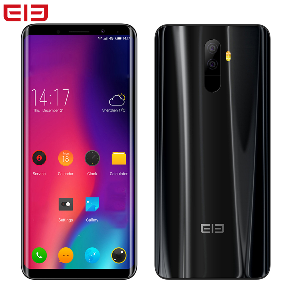 Elefono U Pro 5.99 ''Viso ID 6 gb + 128 gb Android 8.0 13MP Qualcomm Snapdragon 660 Octa Core 2.2 ghz Dual Posteriore Camme 4g Del Telefono Mobile