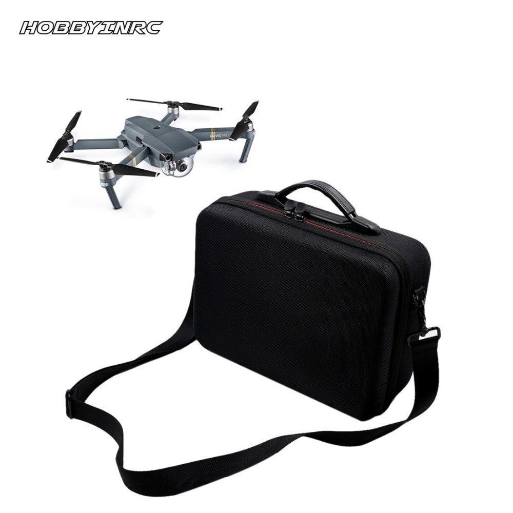 HOBBYINRC Professional Waterproof Drone Bag Outdoor Capming Handbag Portable Case Shoulder for DJI Mavic Pro hobbyinrc drone aircraft part rf v16 gps locator holder for dji mavic pro rc drone accessories