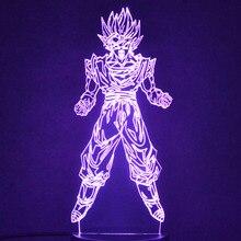 Dragon Ball Night Light Table Lamp Christmas Lights Abajur Led Lamp 3D Illusion Decorative Nightlight