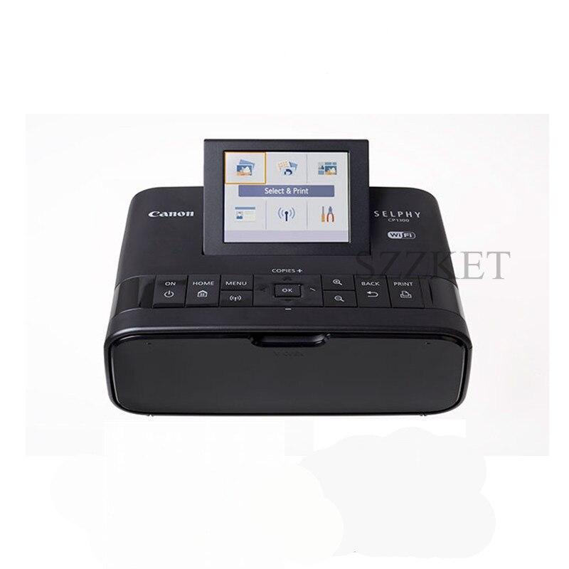CP1300 Wifi senza fili stampante fotografica Diversi modi per collegare per la stampa di CP1200 aggiornamento Portatile foto a colori della stampante stampante di casa-in Stampanti da Computer e ufficio su  Gruppo 1
