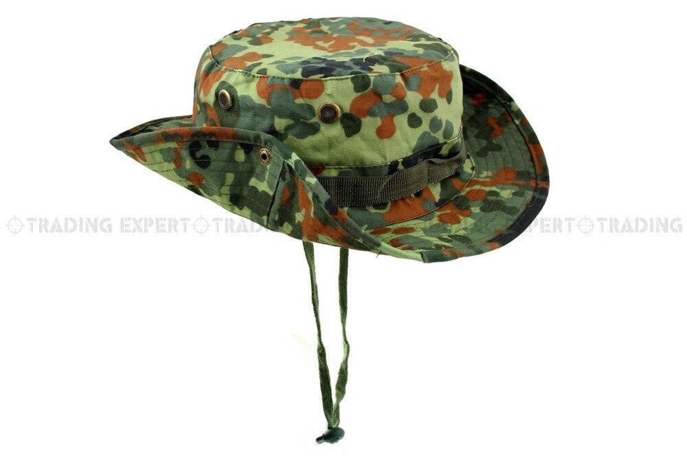 USMC спортивная мужская бейсбольная кепка Кепка и шляпа Multicam Boonie hat(CP ACU Woodland Green BK GW MD MU SC - Цвет: German Woodland