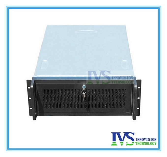 Huge storage RC6515 Industrial computer case 4U rack mount chassis,15pcs HDD Bays stable huge storage 16 bays 3u hotswap rack nvr nas server chassis s36504