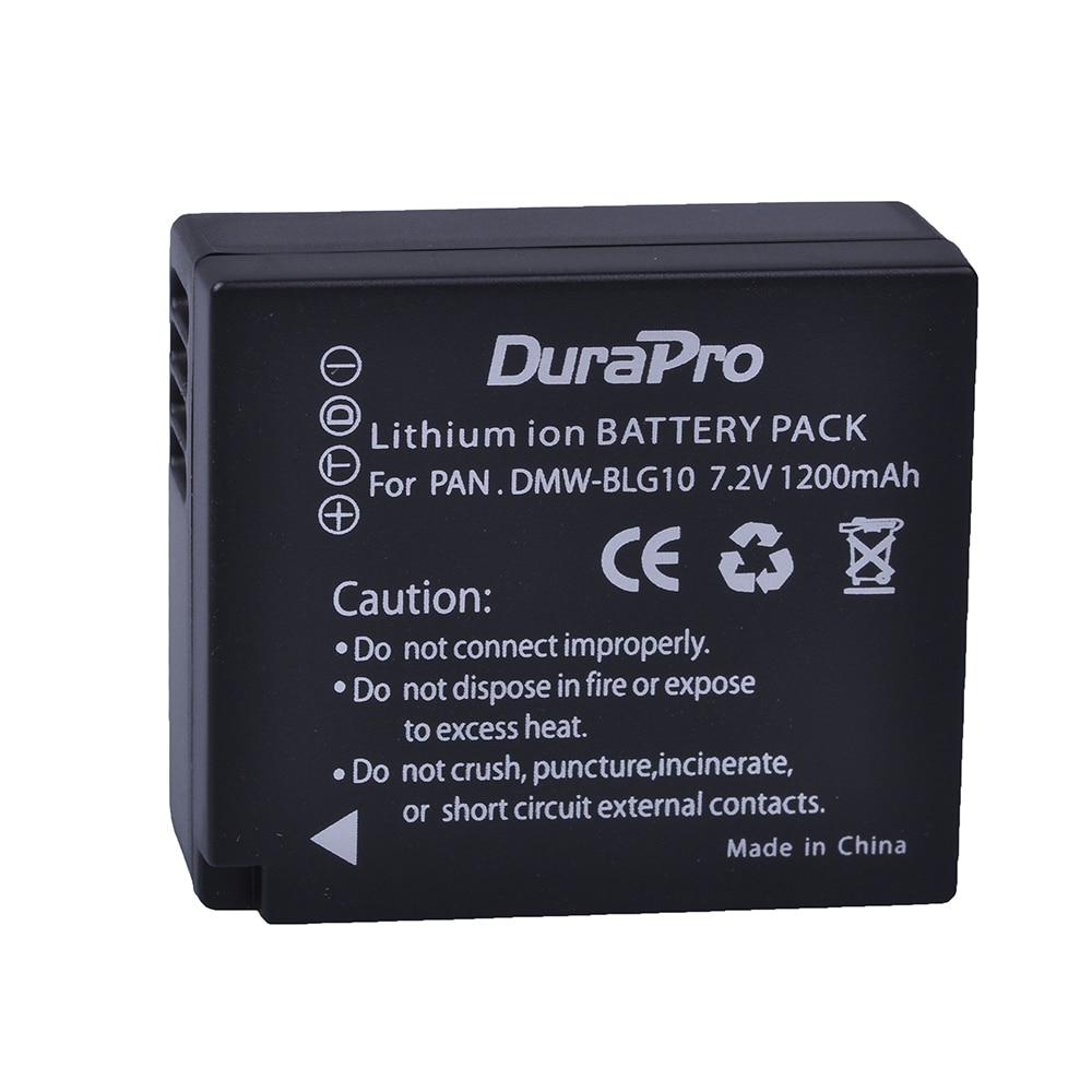 Cargador Usb Doble Para Panasonic DMW-BLG10 BLG10E BLG10PP BLE9E BLE9PP Batería