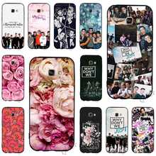 Silicon Why Dont Do Not We WDW Phone Cover for Samsung Galaxy S9 Case A3 A5 A6 S7 Edge S6 S8 Plus Note 8 9 TPU Skin цена
