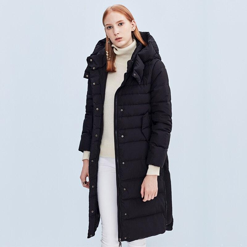 Beige Efatzp Date Le gris Vers Taille Épaisse Long À Était Mince Bas Capuche Section Mode Piste Hiver Manteau Slim Plus Veste Chaude Femmes 2017 De noir rrw0Fd4gq
