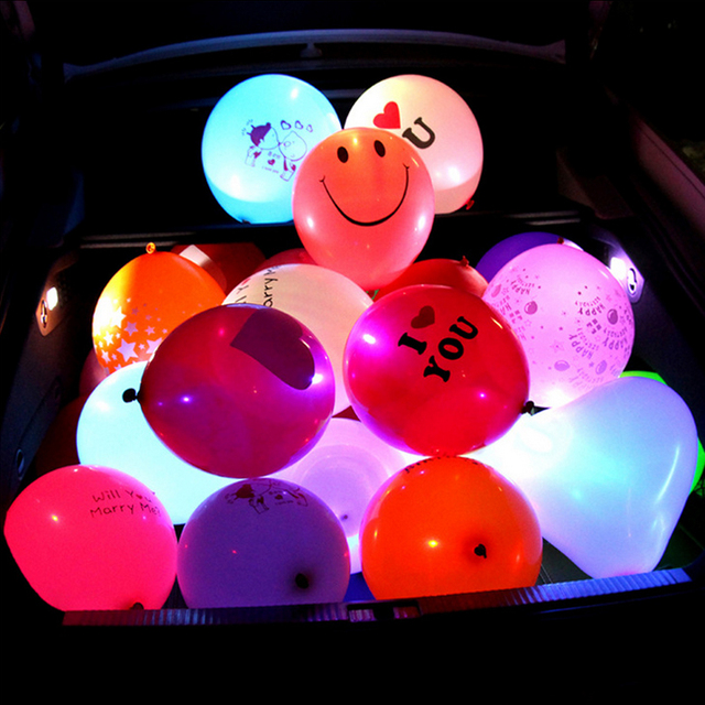 up amazon birthday tnso ac flashing quality light com led dp balloons premium color mixed