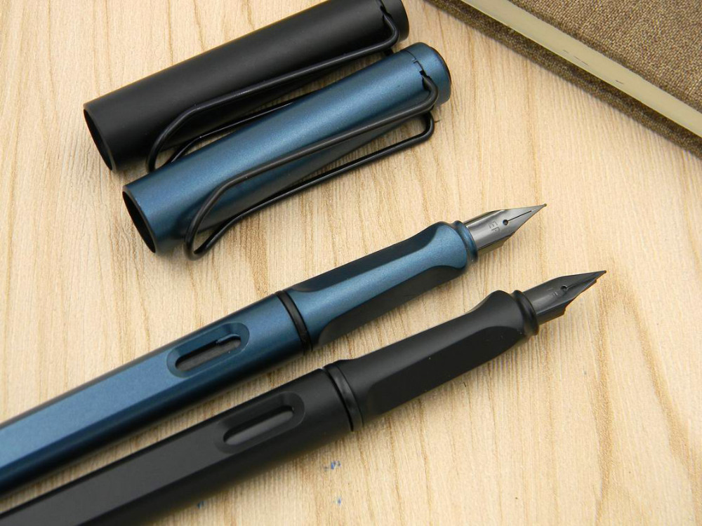 Standard Classic Office Matte Black Green Gun Black Nib Gift Fountain Pen