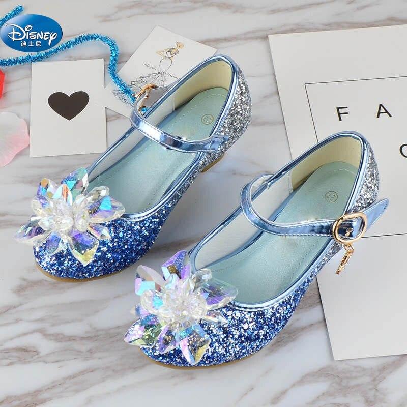 Kristal Perempuan Sepatu 2019 Baru Putri Sepatu Hak Tinggi Kaca
