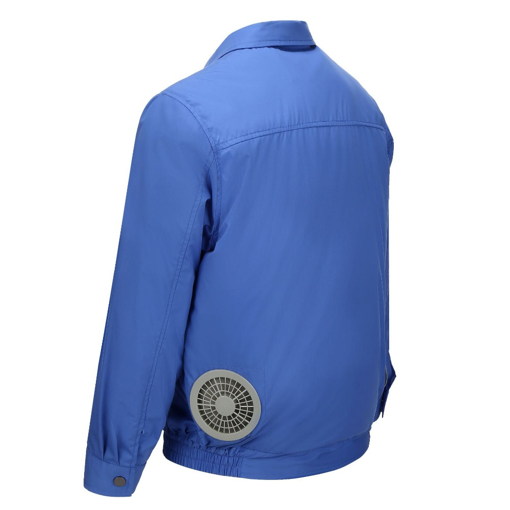 Image 5 - Air Conditioning Clothes Cooling Conditioned Fan Jacket For Outdoor High Temperature Cooling Jackets Working Fishing Hunting-in Safety Clothing from Security & Protection