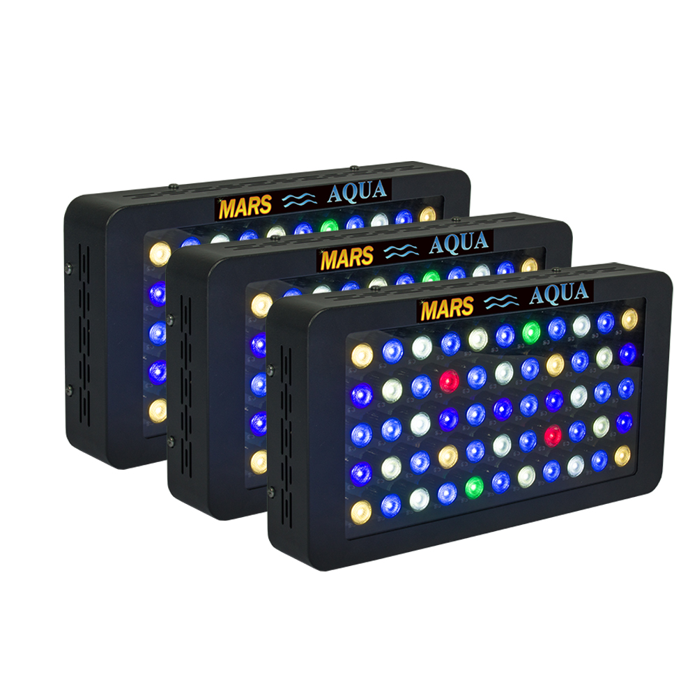 3 pcs  165w Dimmable Led Aquarium Lighting 3W Chip for Coral Reef Beautiful Underwater World