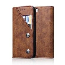 Роскошь Кожи Сальто Телефон Case Для Iphone 6 6s Plus 7 Case бумажник Сумка Стиль Слот для Карты Держатель Стенд Крышка Для iPhone 7 Plus