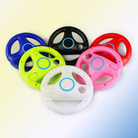 Steering Wheel For Racing Game Remote Controller Console for Nintendo Kart Wii