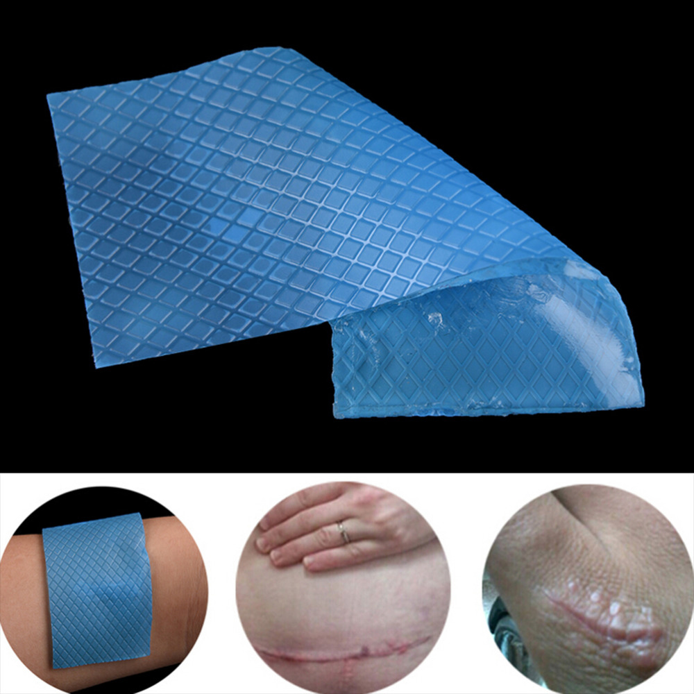 Silicone Removal Patch Reusable Acne Gel Scar Therapy Silicon Patch Remove Trauma Burn Sheet Skin Repair 3.5*12cm