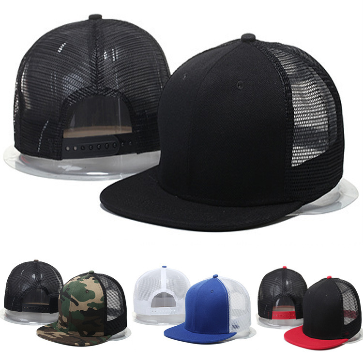 2019 New Summer Hip Hop Blank Light Board Cap Hiphop Mesh Hat Ladies Outdoor Visor Adjustable Men's Flat Hats Baseball Caps