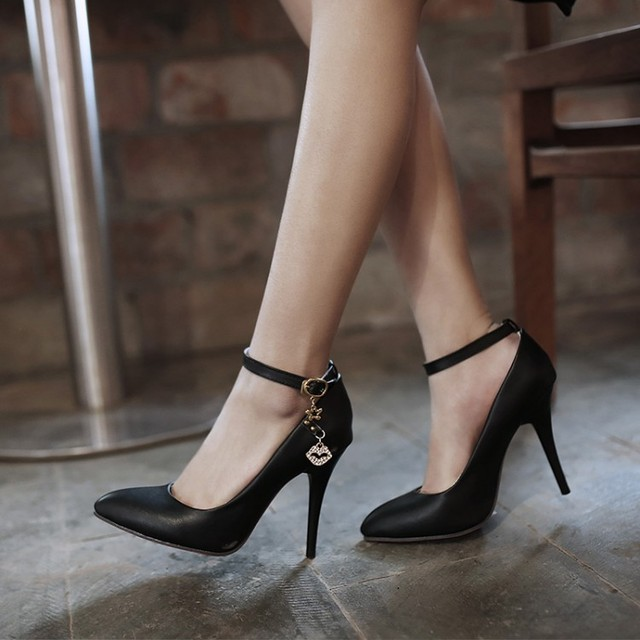 Fshion Bombas de Las Mujeres Atractivas Ultra High Heels Plataforma Party Dance Shoes Bombas Zapatos de Mujer 369