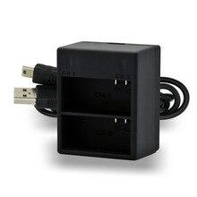 Carregador de Bateria Digital com Mini Cabo para Gopro 3 plus Baterias Alta Qualidade IR PRO Dual USB Hero 3 Herói DA Câmera Livre Shipp