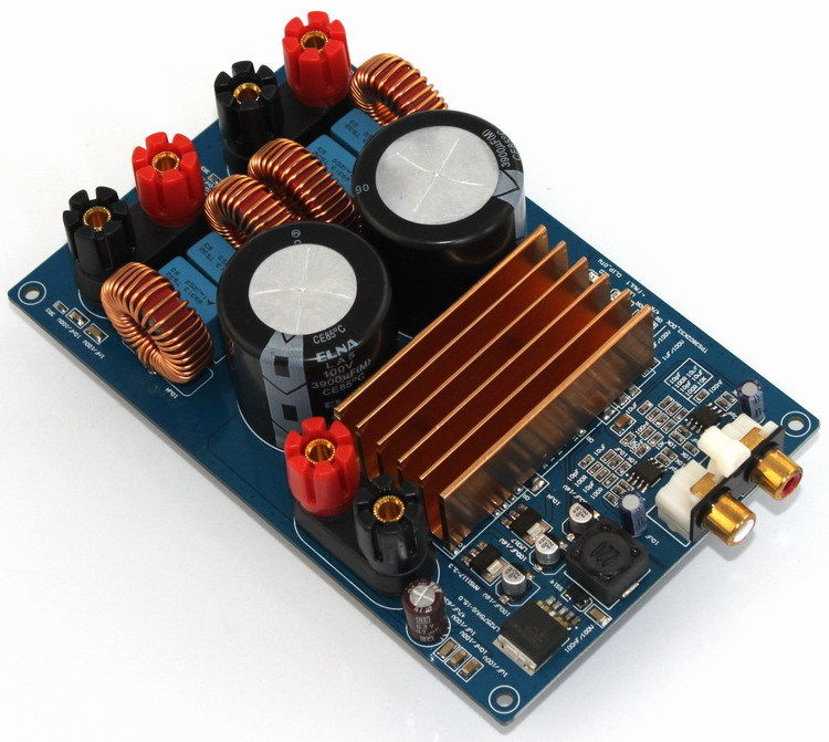 Carte d'amplificateur numérique TPA3255 assemblée carte d'amplificateur Audio classe D 300 W + 300 W