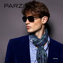 PARZIN Brand Classic Aviator Alloy Frame Sunglasses For Men Cool Pilot Square Polarized Driving Sun Glasses Eyewear Accessories