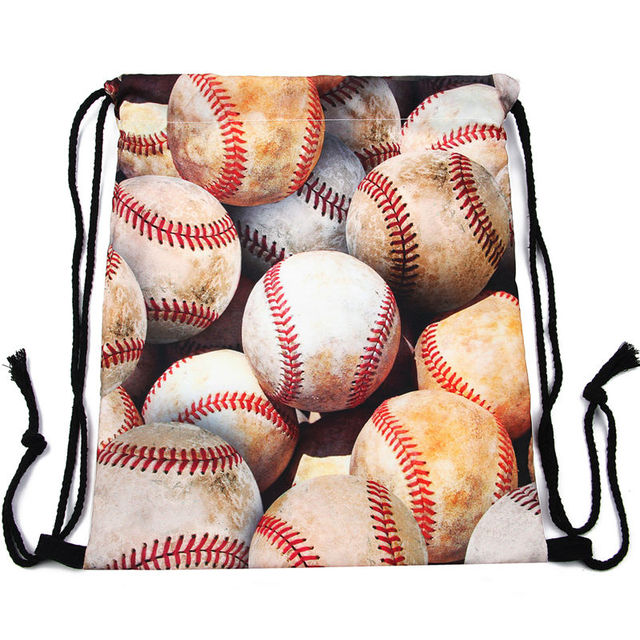 Women's Sport Printed Drawstring Bag