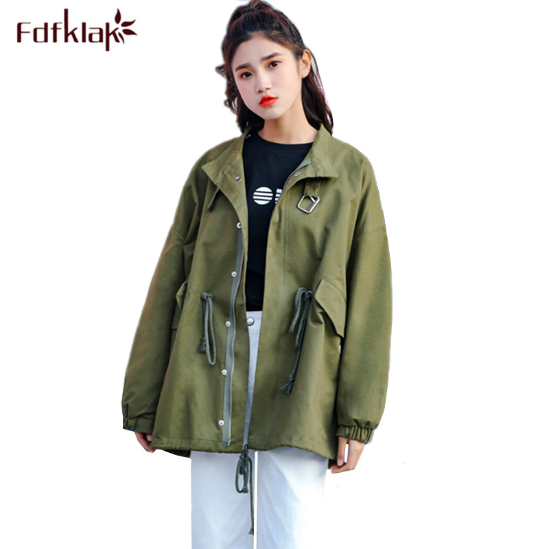 Fdfklak Loose Large size maternity jacket pregnancy clothes for pregnant women autumn winter female trench coat casaco feminino maternity clothes sweater women loose large size tassel bat shirt high collar shawl thickening autumn winter pregnancy clothing