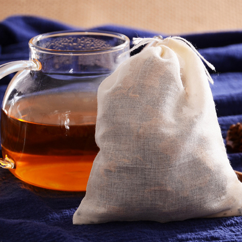 20pcs Tea Bags for Tea Bag Infuser with String Heal Seal Sachet Filter Kitchen Gadgets Pakistan