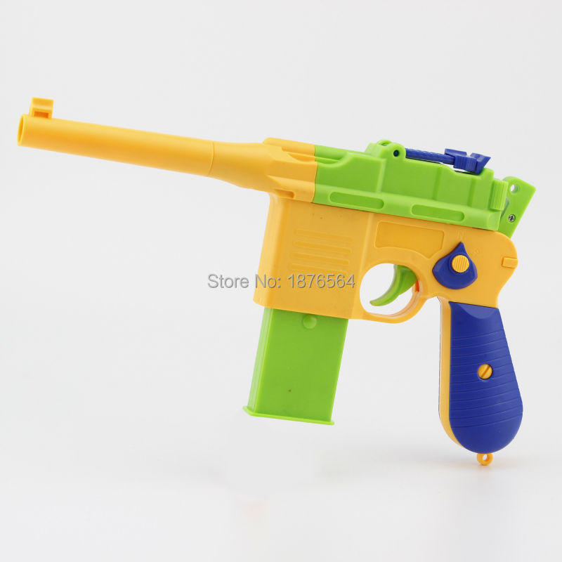 1pcs ClassicChildren s Toy Guns Soft Bullet Gun Kids Fun Outdoor Game Shooter Safety