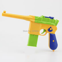 1pcs ClassicChildren's Toy Guns Soft Bullet Gun Kids Fun Outdoor Game Shooter Safety
