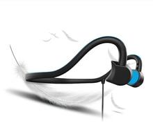 Mini Sem Fio Bluetooth 4.1 Fone de Ouvido Fone de Ouvido de Condução Óssea Gancho Neckband Esporte Fones De Ouvido Estéreo de Alta Fidelidade Com Microfone Para presentes Mp3 Iphone