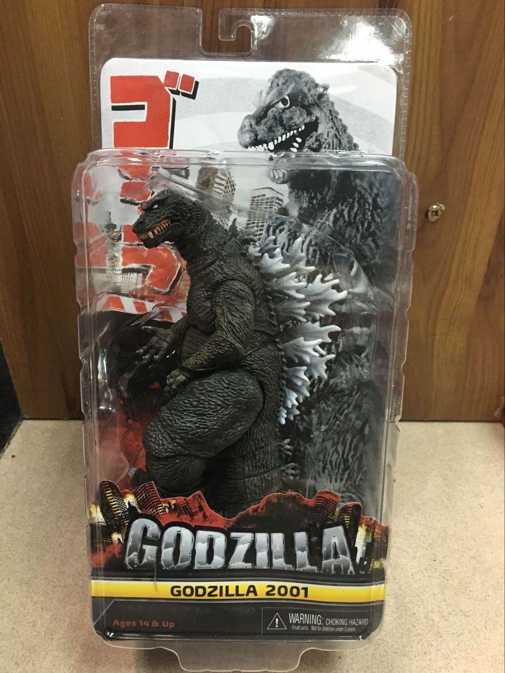 все цены на Free Shipping NECA Godzilla 2001 1954 PVC Action Figure Collectible Model Toy 8