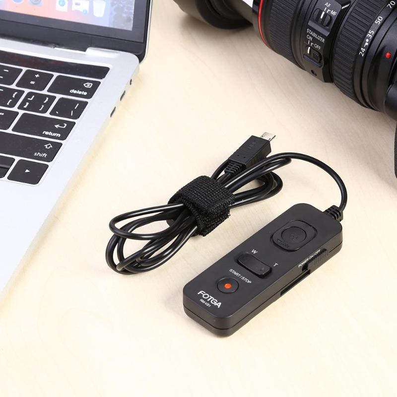Image 3 - RM VS1/RM VP1 Remote Control for Sony Shutter Release for Sony RM VPR1 A 5100 A 7S A 5000/Panasonic GH5 GH4 GH3 DMW RSL1/RS1-in Shutter Release from Consumer Electronics