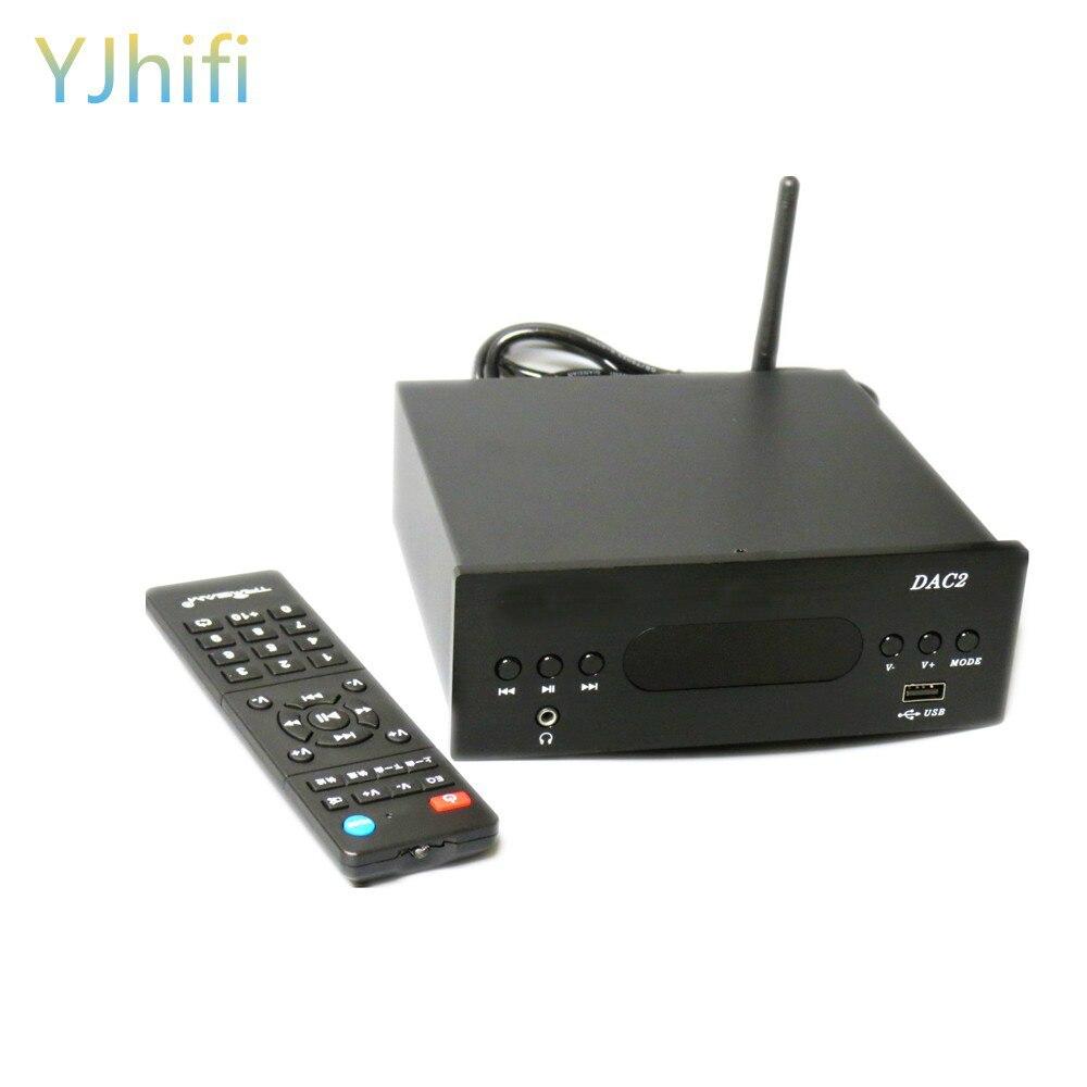 Новейшие технологии USB ЦАП Многофункциональный HiFi аудио декодер коаксиальный цифровой проигрыватель bluetooth-плеер Усилители для наушников