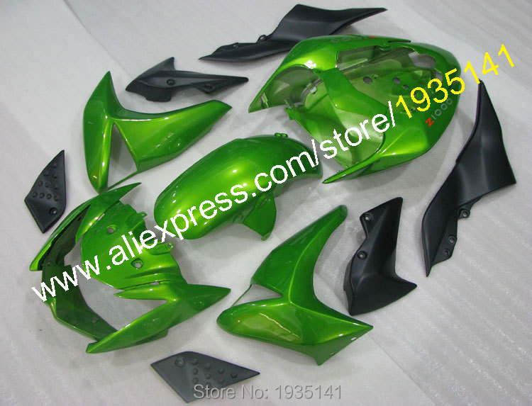 Hot Sales,Best price fairings parts For Kawasaki Z1000 Cowlings kit 2007 2008 2009 Z 1000 07 08 09 green black Aftermarket kit aftermarket free shipping motorcycle parts eliminator tidy tail for 2006 2007 2008 fz6 fazer 2007 2008b lack