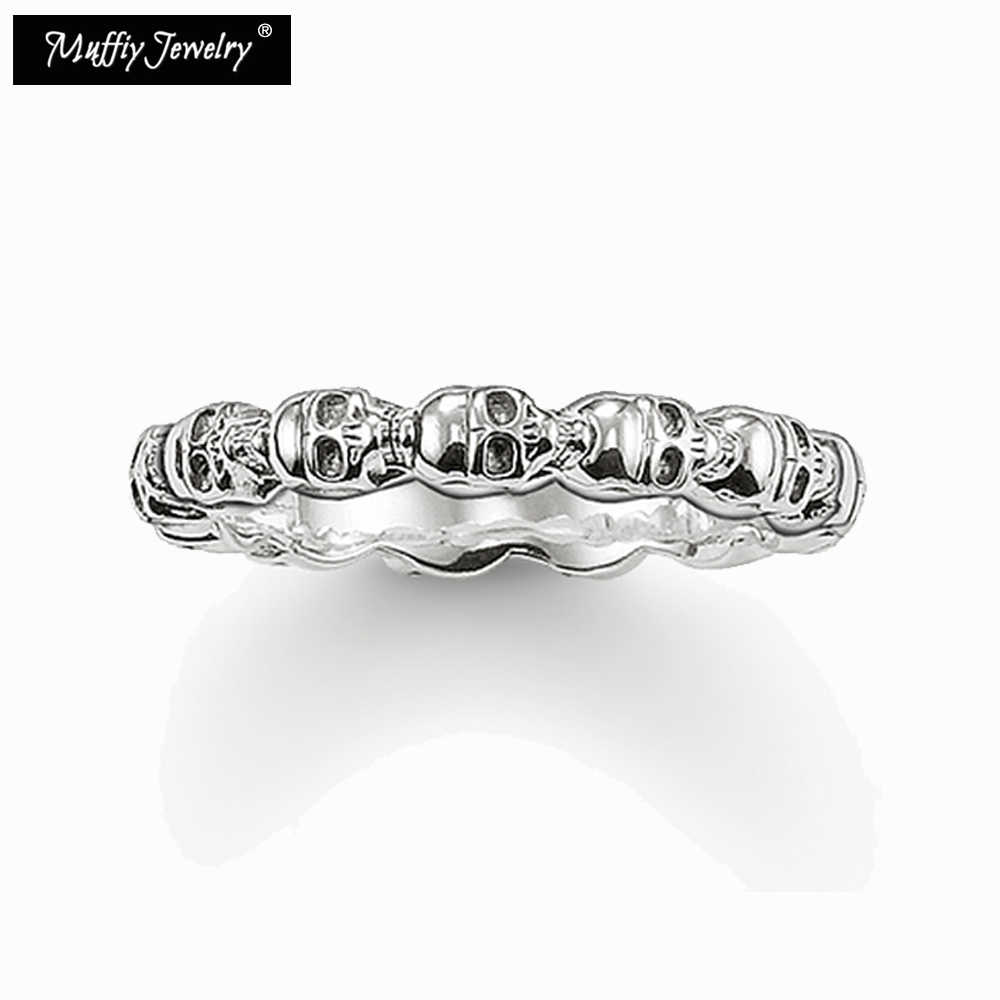 Schedels Ring,Thomas Stijl Soul Sieraden Goede Jewerly Voor Vrouwen, 2017 Ts Gift In 925 Sterling Zilver, super Deals