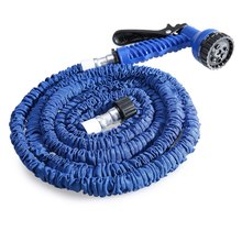 All Sale Garden Hose Spray Gun 25FT Expandable Flexible Garden Water Hose For Car Water Pipe Plastic Hoses Reel Watering