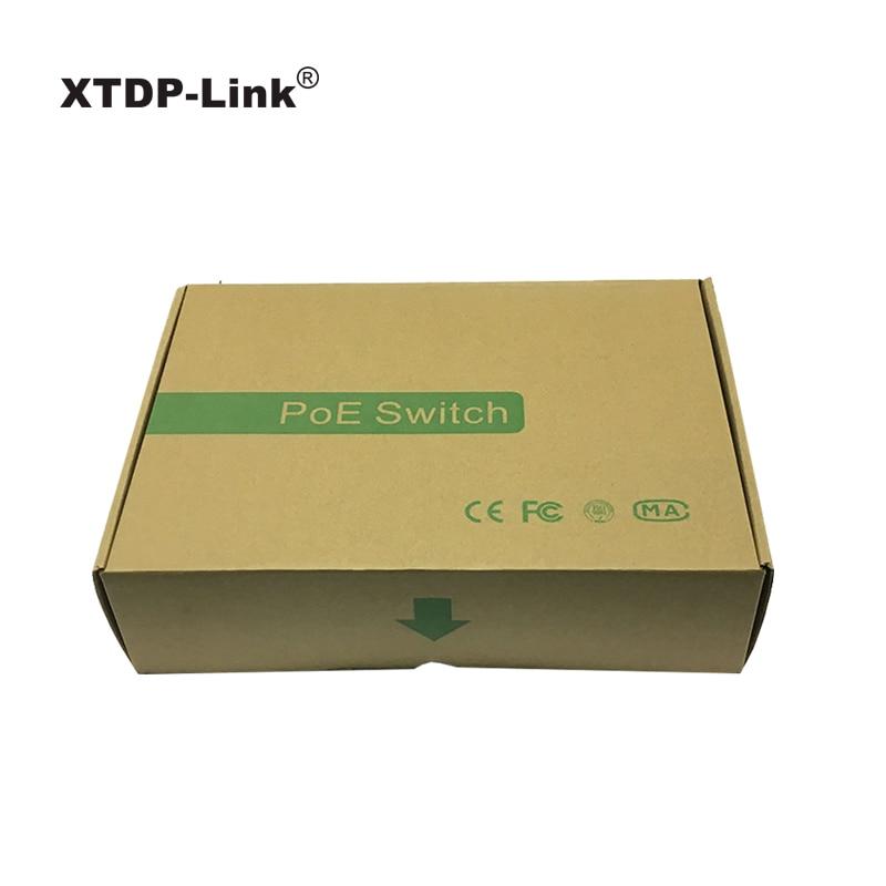 Gigabit poe შეცვლა 8 პორტის 10/100 / 1000mbps - ქსელის აპარატურა - ფოტო 6