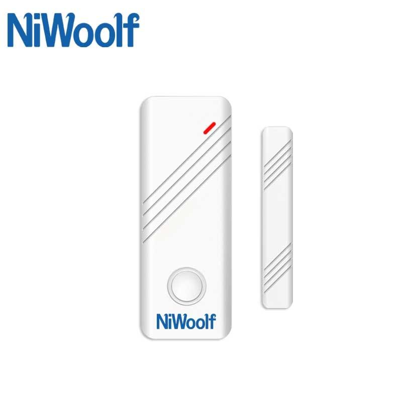 433MHz Wireless Door Window Magnetic Sensor Door Open Detector 2262 Chips For Home Burglar Alarm System
