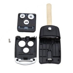 Image 3 - 3 Bottoni Auto di Vibrazione A Distanza Chiave Caso Fob Borsette Aggiornamento per Honda Civic per Accord Jazz CRV
