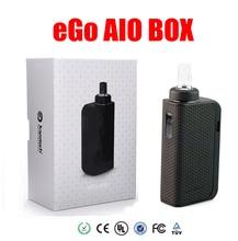 Original Caja Aio Kit Ego cigarrillo electrónico con 2100 mah Vape Mod 2 ml Vaporizador All-In-One Kit de Cigarrillo Electrónico kit
