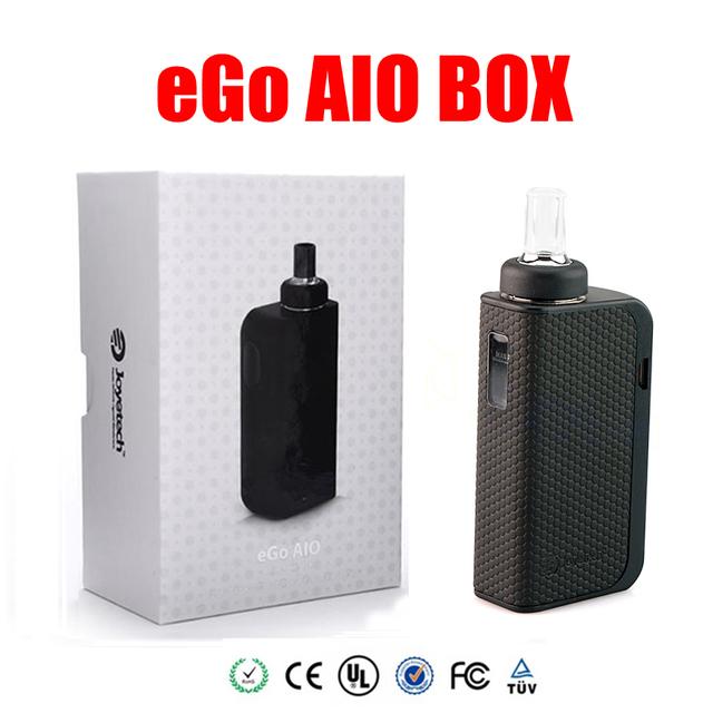 Original joyetech ego caja aio kit de cigarrillo electrónico con 2100 mah vape mod 2 ml vaporizador todo-en-un kit de cigarrillo electrónico kit
