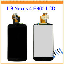 4.7″ New For LG Nexus 4 E960 LCD Screen Display with Touch Screen Digitizer Assembly Black + Tools Free Shipping