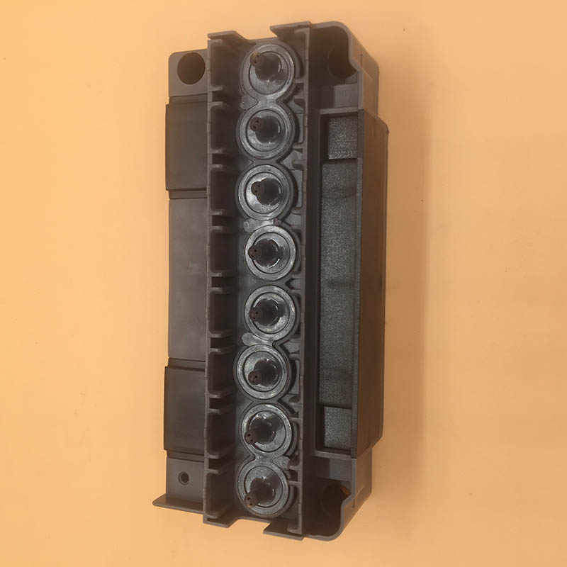 100% Asli Baru DX5 Print Head Cover untuk F186000 DX5 Pelarut Printhead Cover Adaptor Manifold untuk Mutoh Mimaki Galaxy Printer