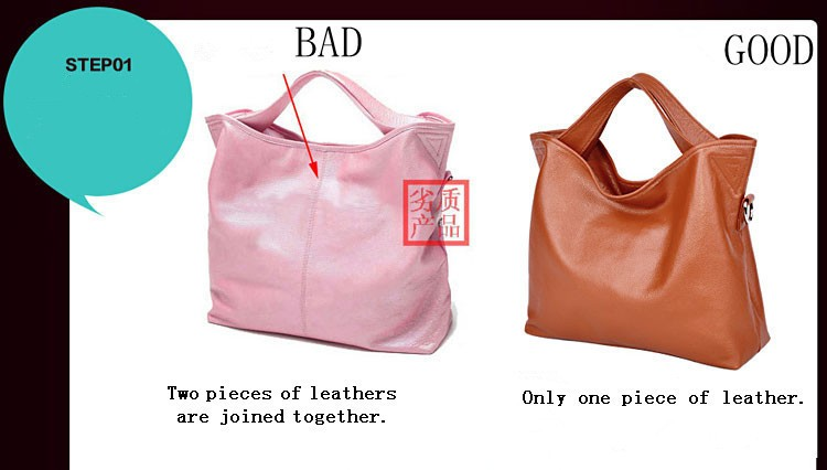 genuine leather bag female 1