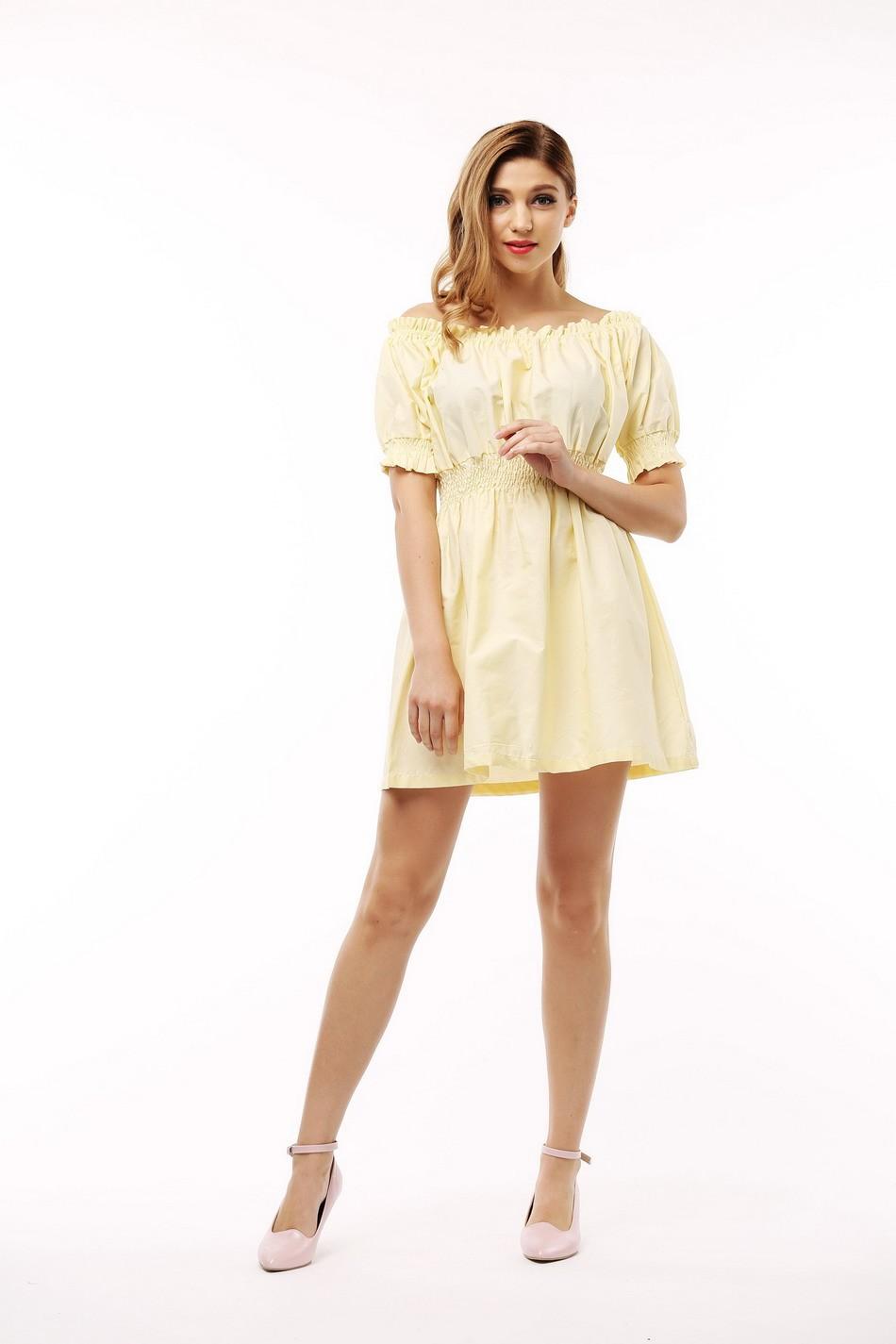 100% bawełna nowy 2017 jesień lato kobiety dress krótki rękaw casual sukienki plus size vestidos wc0380 17