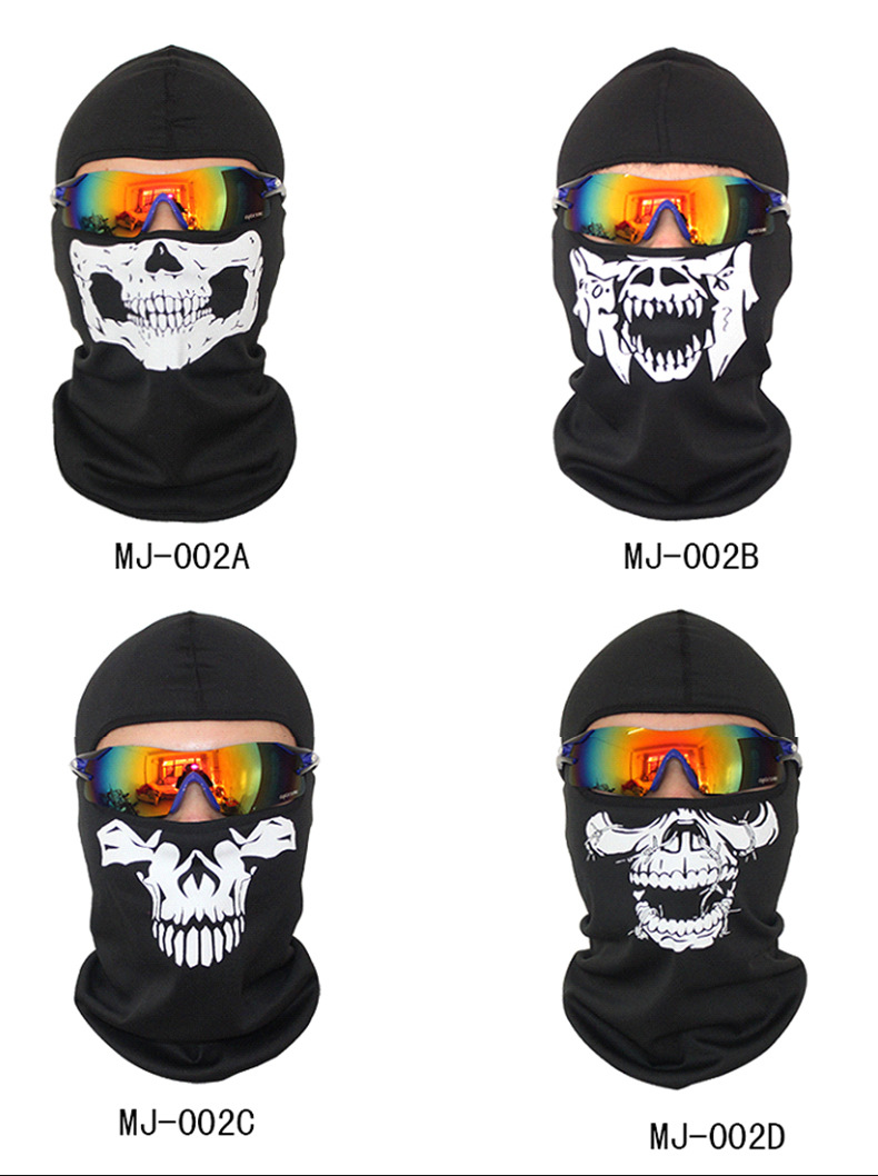 Movie Style High Quality Skull Mask Balaclava Without Glasses
