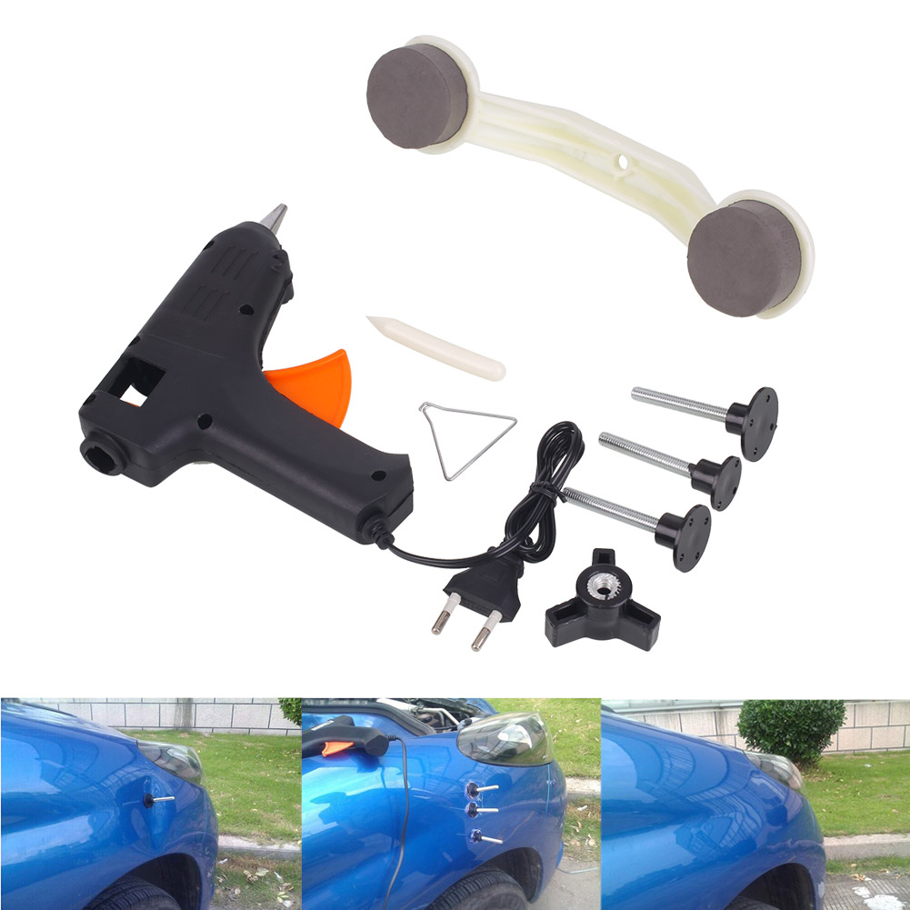 Auto Car Paintless ABS Plastic Dent Repair Remover Tool Paint Care Cleaner