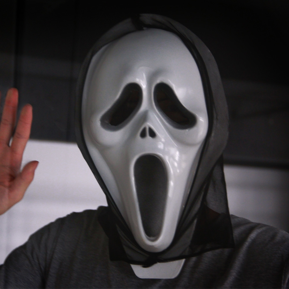 Compare Prices on Scream Plastic Halloween Mask- Online Shopping ...
