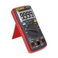 ZOYI 9999 Liczy Wysoka Precyzja Mini Auto/Manual Multimetr Cyfrowy przebieg Prostokątny Podświetlenie AC DC Napięcie Prądu Amperomierz Ohm
