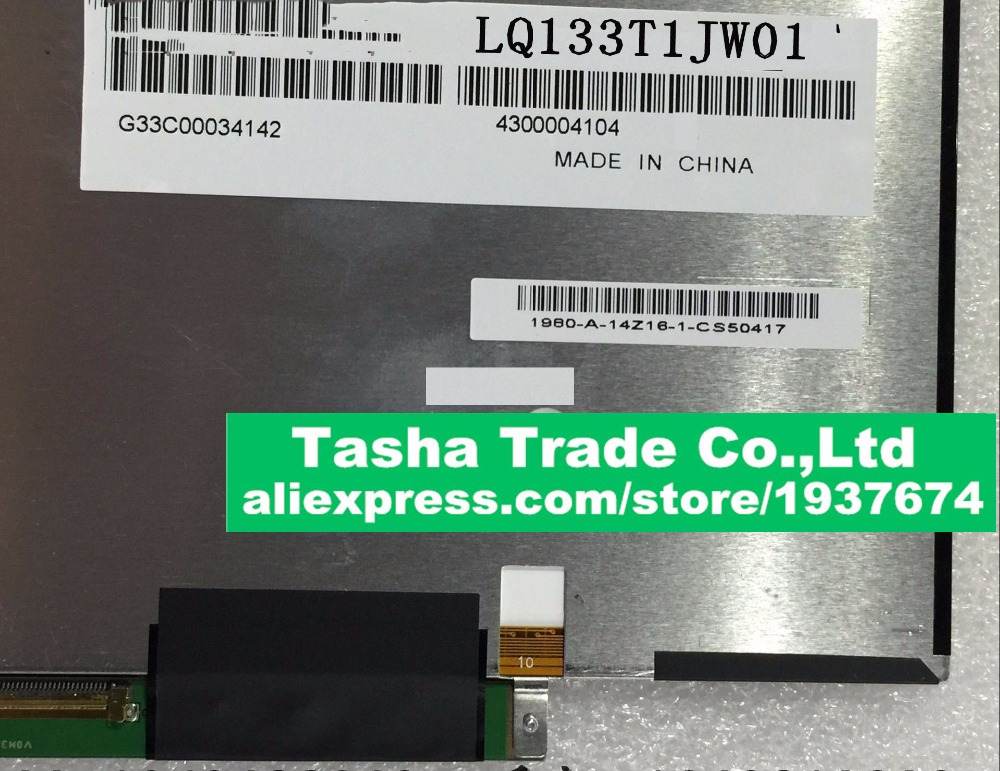 For Sharp LQ133T1JW01 13.3 Laptop LCD Screen IPS LED Display WQHD 2560*1440 LCD Display led телевизор sharp lcd 60lx850a 60 wifi 3d