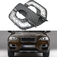 Car Specific Led Daytime Running Light Drl Lamp For BMW E71 X6 SUV 2008 2013 Auto
