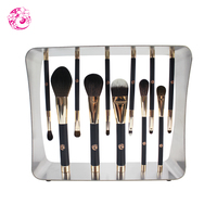ENERGY Brand Professional 11pcs Magic Makeup Goat Hair Magnet Brush Set Brochas Maquillaje Pinceaux Maquillage cs2